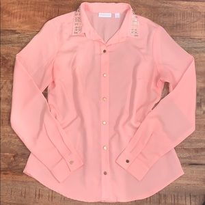 NY&Co. button down top